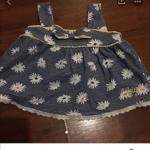 Sz. 6/9 mths  Cute Tommy 2 piece outfit open back
